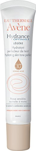 Avène Hydrance Optimale Light Hydrating Cream Bonne Mine SPF 30 40ml by (Hydrance Optimale Light Hydrating Cream)