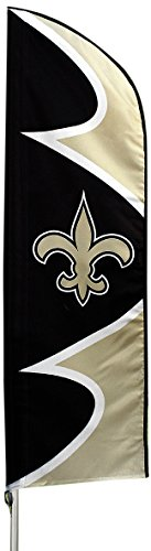 Party Animal New Orleans Saints NFL Swooper Flag