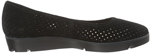Evie Suede Black Clarks Pumps Buzz Womens SqnBqw71