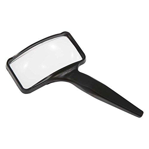 Aspheric Lens Magnifier - Donegan A-2024 Aspheric Rectangular Hand Held Magnifier, 3X Magnification, 2