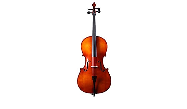 Miiliedy 1/8 1/4 1/2 3/4 4/4 Tamaño Violonchelo Adultos hechos a mano Principiante Niños Practiquen tocando el violonchelo dulce con estuche Arco Resina Cuerdas adicionales Soporte para cello: Amazon.es: Instrumentos musicales