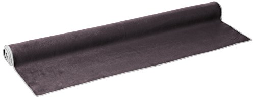 PrAna Maha Yoga Towel, One Size, Charcoal