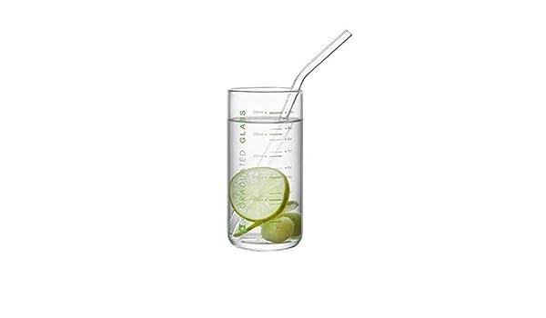 YXIAOn Taza de medir, taza de leche de vidrio for niños ...