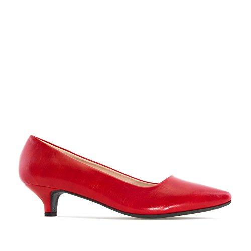 35 pointures AM5216 Grandes Pour 45 Soft 32 en Machado Chaussures Rouge femmes Andres Petites et 42 TwRqgn
