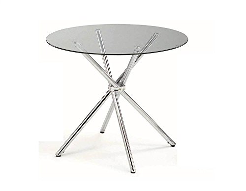 Round Dining Table, Metal &