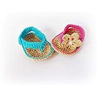 Baby Flip Flops Baby Sandals Blue Pink Sandal