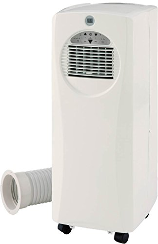 SPT SlimLine 10,000 BTU Portable Air Conditioner and 9,500 BTU Heater White WA-1061H