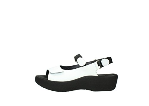 Wolky Sandals Leather Jewel leather 310 3204 white Womens pBqpS