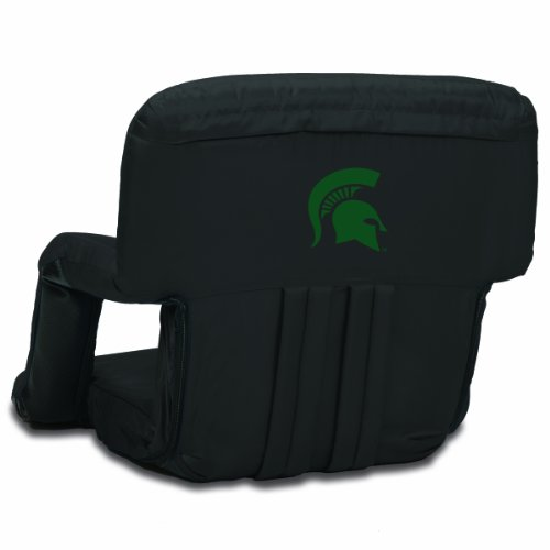 Michigan State Seat Cushion - PICNIC TIME NCAA Michigan State Spartans Ventura Portable Reclining Seat