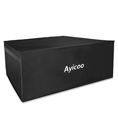 Ayicoo Waterproof Car Rooftop Cargo Carrier Bag for SUV Jeep Truck, 21 Cubic Feet, Extra Large by Ayicoo