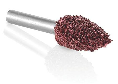 12.7mm - Fine Kutzall Original Flame Burr Head Length 1//8 Shaft 3.1mm Tungsten Carbide Coating: 1//4 FL-14-EG-UK 6.3mm Head Diameter x 1//2