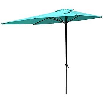 0f1005ffd1 Amazon.com : Kinbor Offset Patio Umbrella 10F Outdoor Table Umbrella ...