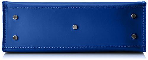 w A 8653 Cm Chicca Donna Blu 35x36x12 X blue L H Mano Borse Borsa xg4wq5t84
