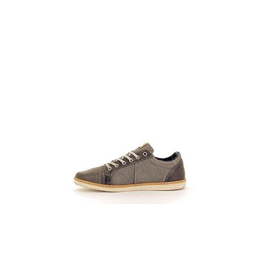 Bullboxer 453-K2-4745A Zapatos de cordones Hombre gris, EU 44