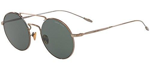 Giorgio Armani FRAMES OF LIFE AR 6072 MATTE BLACK/GREY 48/21/145 men Sunglasses