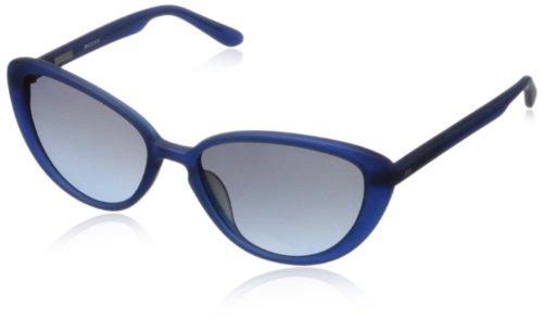DEREK LAM Phoenix Cat-Eye Sunglasses - Matte Blue - 55 mm