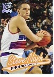 1996 Fleer Ultra Basketball Rookie Card (1996-97) #87 Steve Nash Mint (Steve Nash Card)