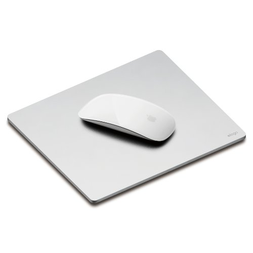 elago Aluminum Mouse Pad for Computers & laptops (Silver)