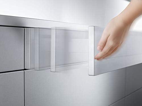 Premium-Ambiente AGE0415 Unterschrank 3-Schubladen Soft Closing FE Breite 30cm, 01 Concrete dunkelgrau