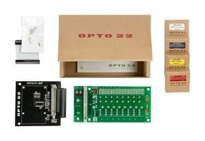 (OPTO-P1-STARTERKIT-1-Digital I/O Starter Kit for Raspberry Pi, Carrier Board, Rack, 2X Input Modules, 1x Output Modules)