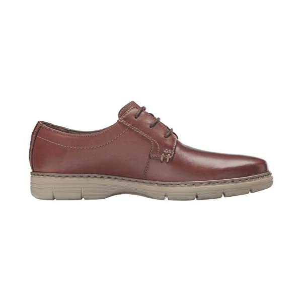 NEW CLARKS WATTS PACE ORTHOLITE Brown LEATHER SHOES SIZE 10 /& 7.5