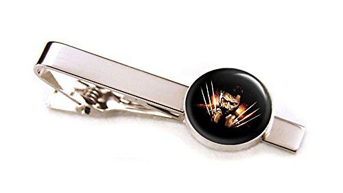 Wolverine Tie Clip, X-men Cufflinks, Wolverine Cuff Links, Superhero Wedding Jewelry, Groomsmen Gifts, Groomsman Gift, Geek Geeky Present