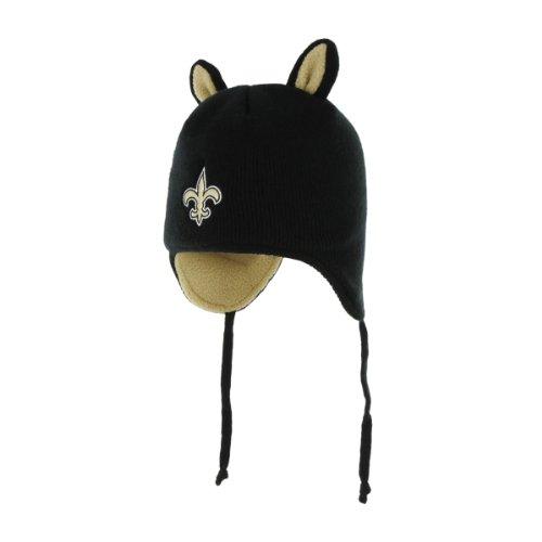 責未知のハッピーNFL Infant ' 47 Little Monsterニット帽子 ブラック
