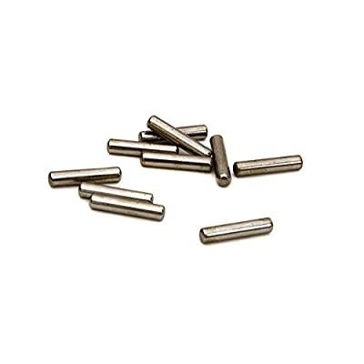 Integy RC Model Hop-ups C27374 Steel Pin 2 x 10mm Size (10) RC Hardware