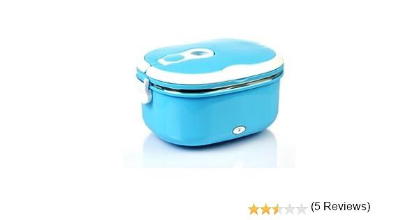 Express Panda® lonchera eléctrica con envase de comida Interior de acero inoxidable [Popular electrónica calentamiento lonchera con accesorios completo]: ...