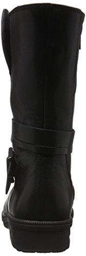 Ganter Dames Kathy, K-brede Korte Laarzen Zwart (black 0100)