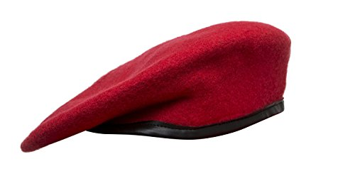 1f755d7dc3523 Marlow White Uniforms Colored Berets, JROTC (6 1/2, Red) - Buy Online in  Oman. | Apparel Products in Oman - See Prices, Reviews and Free Delivery in  Muscat, ...