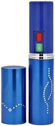 Foxfend Spark Lipstick Stun Gun Women Self Defense Bright Led Flashlight – Rechargeable Battery