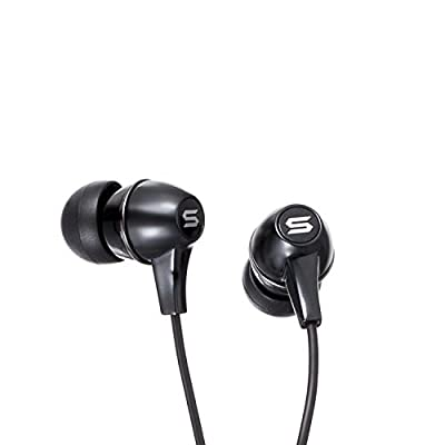 Soul by Ludacris (SS7BLK) In-Ear Headphone with Microphone and Remote Control - Black