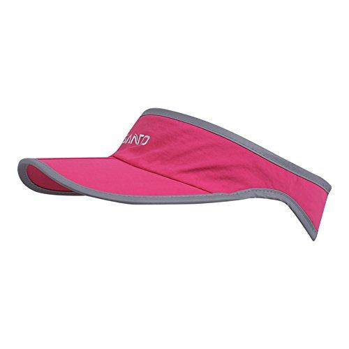 Foldable Visor Sun Hat - Outdoor Run Golf Hats with Adjustable Velcro - Quick-drying Nylon Running Tennis Visors Caps Sports Training - Shadow Visor Cap for Women Men - Womens Visor Running