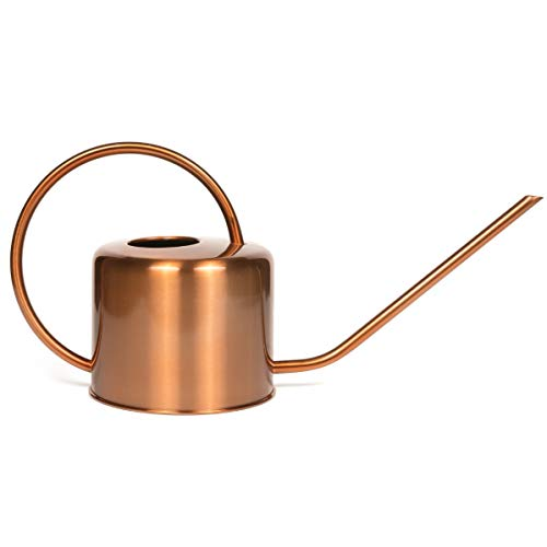 Homarden Copper Colored Watering Can for Outdoor and Indoor House Plants ()