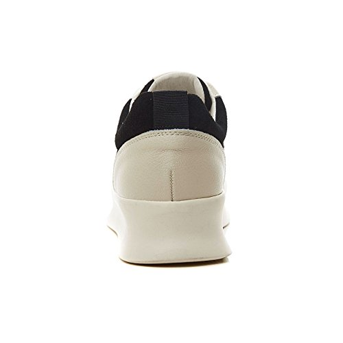 Mode Sport Chaussure 35 Lacets Antidérapantes Confortable Basket Plateforme Noir de Noir Cuir Femme JRenok Beige 39 Sneakers 5qAwxt6XY