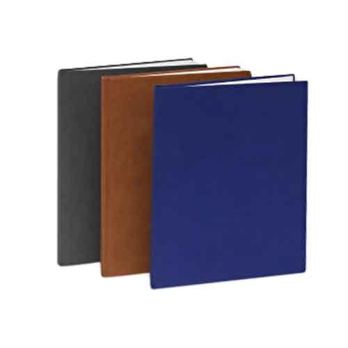 Fastback Black Suede 10'' x 10'' Hard Covers - Size A