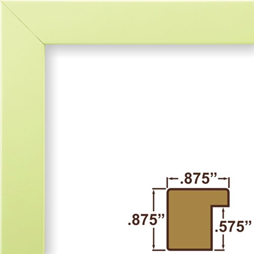 craig-frames-140642-5-by-7-inch-picture-frame-solid-wood-smooth-finish-875-inch-wide-light-pastel-gr
