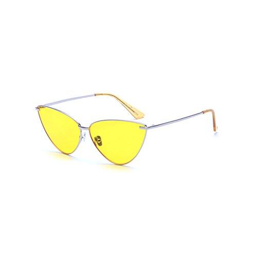 de Aleación E la de Marca de GRADIENTE Moda Marco Gato Ojo Sol Mujer Hombre de Sol Burenqi Gafas Nuevo de Gafas Diseñador UN UV400 de de FRq4xEEfHw