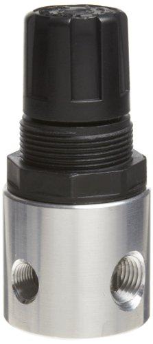 - Parker R344-02A Regulator, Relieving Type, 0-30 psi Pressure Range, No Gauge, 19 scfm, 1/4
