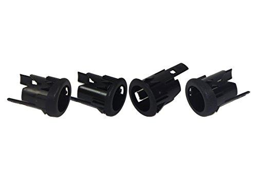 For Ford Super Duty 2008-2016 Rear Bumper Backup Sensor Retainer Brackets 4pcs