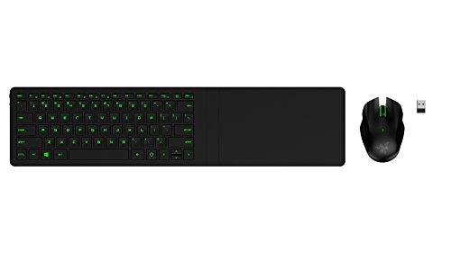 Razer Turret Lapboard - Gaming-Grade Mouse and Keyboard Lapboard for Living Room Gaming - Bluetooth Enabled