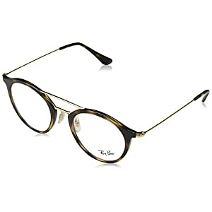 Ray-Ban Unisex RX7097 Eyeglasses Havana 47mm