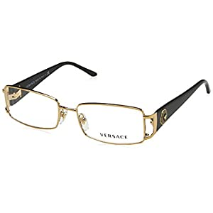 Versace VE1163M Eyeglass Frames 1252-52 - Pale Gold VE1163M-1252-52