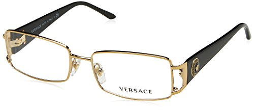 Versace VE1163M Eyeglass Frames 1252-52 - Pale Gold - Versace Glasses