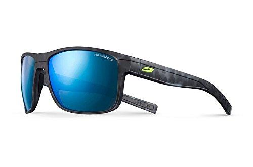Julbo Renegade Sunglasses, Ecaille Black Matt/Black with Polarized 3CF Lenses