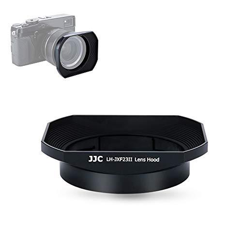 23mm & 56mm Lens Hood Shade for Fuji Fujifilm Fujinon Lens XF 23mm F1.4 R & XF 56mm F1.2 R & XF 56mm F1.2 R APD Replaces Fujifilm LH-XF23 Hood -Black
