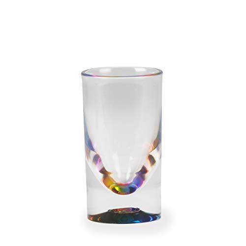 Abbott Collection Rainbow Base Plastic Shot Glass