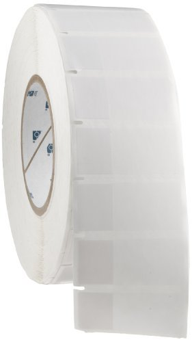 Brady THT-64-427-3 1'' Width x 2.25'' Height, B-427 Self-Laminating Vinyl, Matte Finish White/Translucent Thermal Transfer Printable Label (3000 per Roll) by Brady