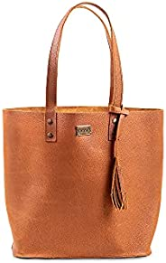 YAYAS PIEL Bolsa Petite Napa - Bolsa de Piel para Dama - Leather Handbag - Bolsa Tote 100% de piel.